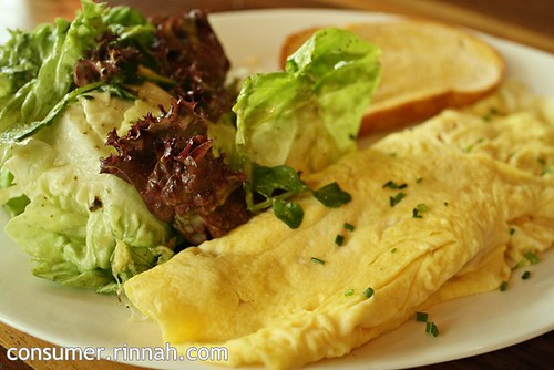 Omelette @ The Bee, Jaya One