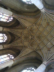 IMG_5091 (x0_showmelove) Tags: windows summer germany europe columns ceiling altar ribs wittenberg castlechurch