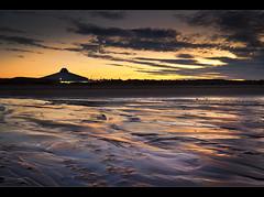 New dawn, Crosby beach. Explore (Ianmoran1970) Tags: orange beach wet sunrise landscape dawn sand purple explored crobsy ianmoran themagicalworldofphotographygroup ianmoran1970