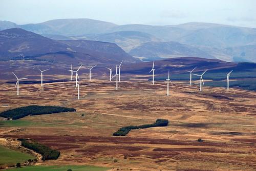 Windfarm near Blairgowrie