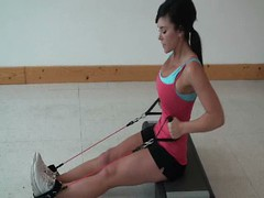 Tone and Firm Abs (Kinetic-Bands) Tags: arms legs butt hips thighs abs core glutes