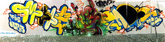 MAOS  OBRA (BREakONE) Tags: painting de effects graffiti break grafiti live character graffity porto colored characters graff sux obra  mots 2010 maos galo barcelos cfs pake galos mnks breakone gsby maniaksmpack
