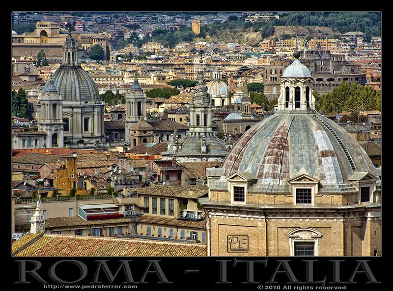 Roma - A vista de pájaro
