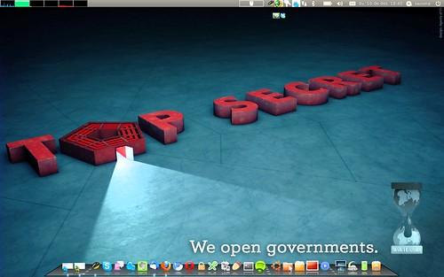 Fons de Pantalla Desembre 2010 - Wikileaks