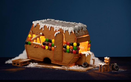 gingerbread trailer
