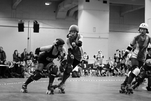 Harbour Grudges vs Suffra Jets - London Rollergirls