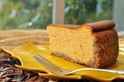 Pumpkin Ricotta Cheesecake Slice4