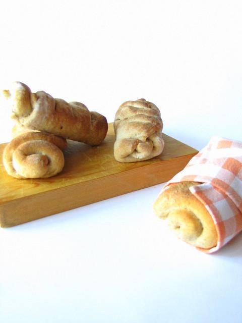 Baguettes di Segale alla Cipolla