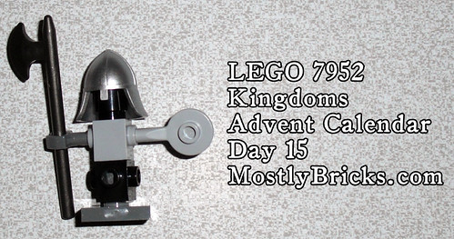 LEGO 7952 Kingdoms Advent Calendar Day 15