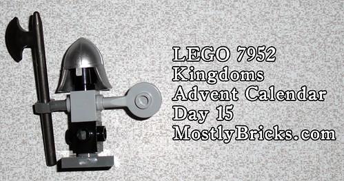 LEGO 7952 Kingdoms Advent Calendar Day 15
