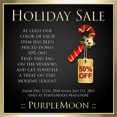 Holiday Sale 50%OFF!