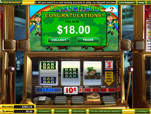 free Luck o'the Irish slot bonus feature