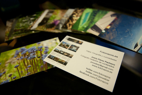 107/365 Tarjetas de visita para fotógrafos
