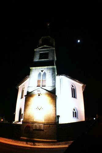 Night View of Eaglesham Parish Church