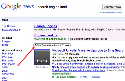 Google News Follow Query