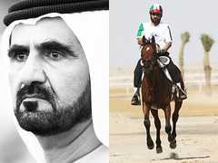 Dubai - Sheikh Mohammed bin Rashid al Maktoum (Emmanuel Catteau photography) Tags: world voyage trip travel vacation portrait horses holiday history tourism face up sport modern person dubai photographer tour close gulf place father sightseeing reporter modernism visit location tourist east business national mohammed journey planet destination leader lonely sight traveling middle visiting ethnic exploration endurance geo rider ruler sheikh personne touring monarchy geographic visage photographe maktoum numan  humain    ethnie  catteau  eyh   globetrotteur   wwwemmanuelcatteaucom emmanuelcatteau