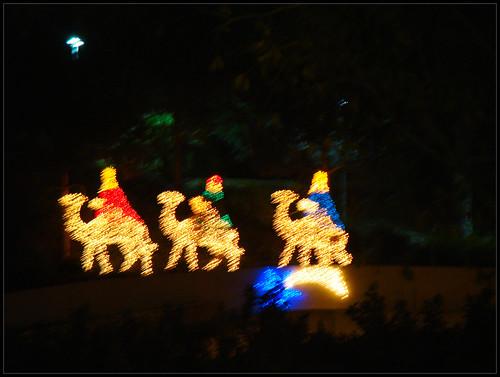 Reyes Magos en Gibralfaro