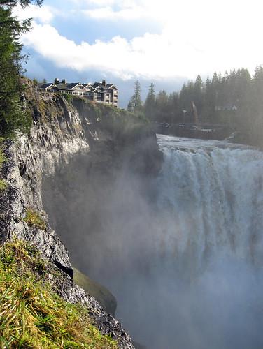 Salish Lodge on Snoqualmie Falls