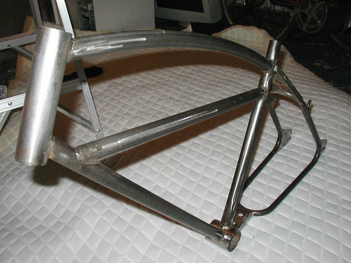 Article One BMX cruiser frame in the raw