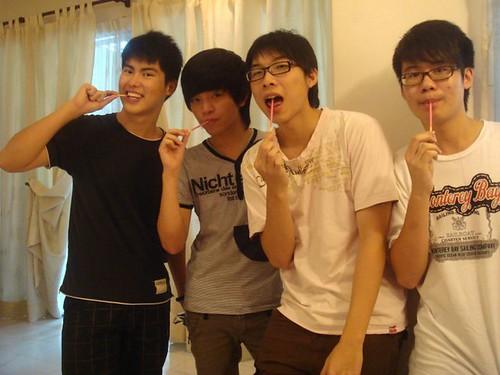 Chern Jung,Raymond,Willion and Calvin