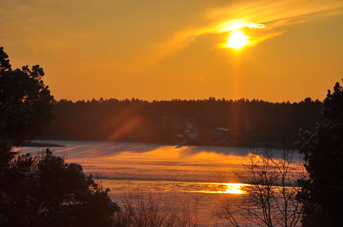 Stockholm sun on the winter solstice