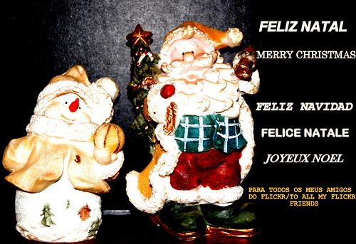 FELIZ NATAL-MERRY CHRISTMAS