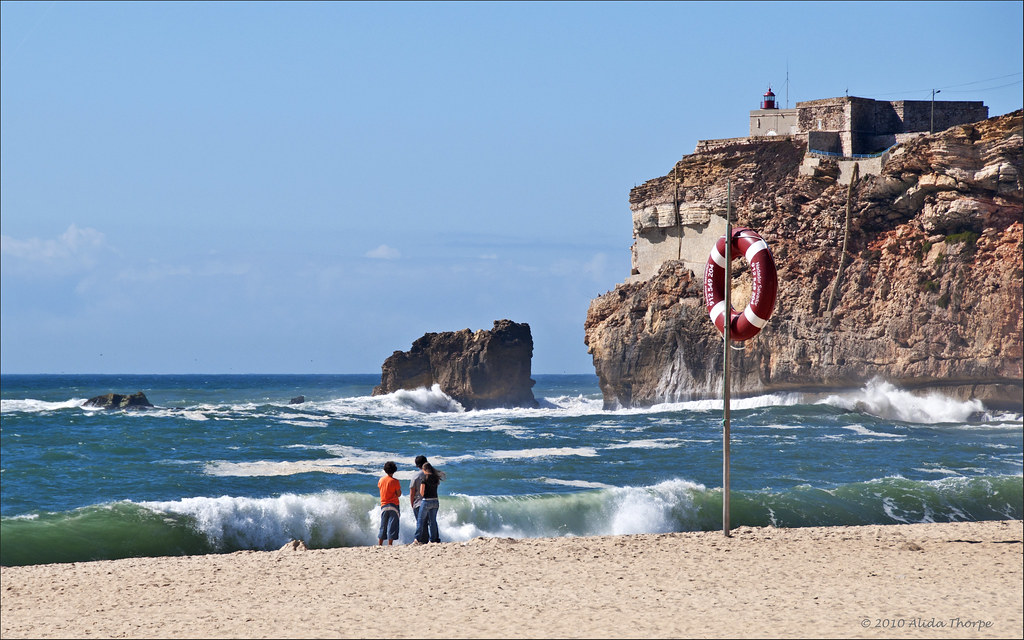Nazaré beach, Portugal