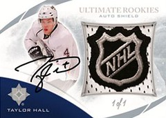 NHL Shield Auto (Sportsology) Tags: upperdeck hockeycards ultimatecollection 201011ultimatehockey upperdeckhockeycards