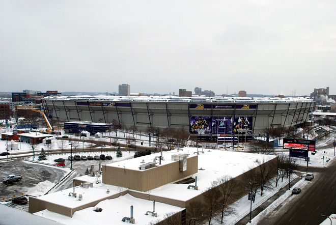 Metrodome Dome Collapse