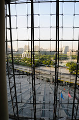 "View from the Chinese science and technology museum in Beijing • <a style=""font-size:0.8em;"" href=""http://www.flickr.com/photos/29931407@N00/5285748893/"" target=""_blank"">View on Flickr</a>"