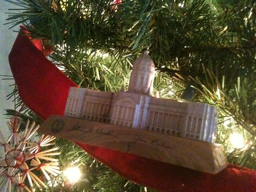 Capitol Christmas Ornament