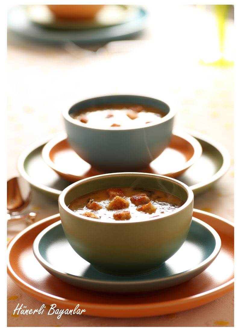 Pazılı Mercimek Çorbası (Ekşili Malhıta)