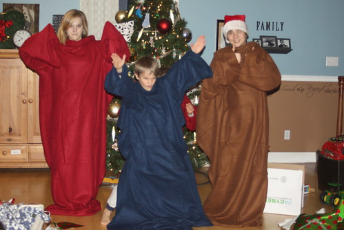 The Snuggie Gang