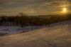 Snowy Sunset with Sun Dog (Carl's Photography) Tags: sky sun cold tree minnesota pine clouds landscape iso100 nikon outdoor glory horizon processing wonderland f11 mn drifts sundog hdr scenics lightroom beautyinnature photomatixpro 18200mmf3556gvr adobelightroom 11000sec d7000 nikond7000 gettyartistpicks 11000secatf11 adobephotoshopcs5