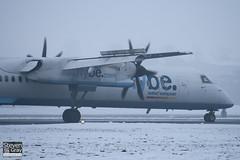 G-JEDT - 4088 - FlyBe - De Havilland Canada DHC-8-402Q Dash 8 - Luton - 101222 - Steven Gray - IMG_7159