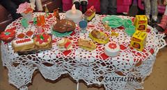A mesa da ceia!!
