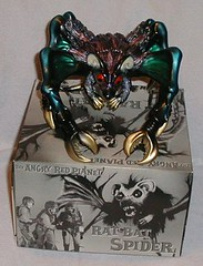 M1 2007 Black {purple, green, gold} Rat Bat Spider with box (Silverjaw) Tags: animal animals monster japan giant movie toy toys actionfigure japanese m1 space tag vinyl card figure exclusive collect collecting kaiju 2007 wonderfestival chillertheatre ratbatspider clubdaikaiju