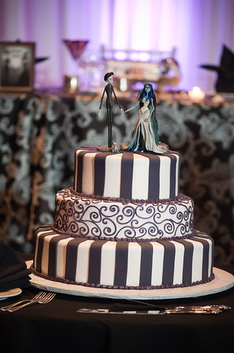 Corpse Bride Wedding Cake Aside from that watching my groom and his