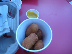 Corn Dog Nuggets @ Casey's, Magic Kingdom