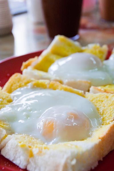 Half Boiled Egg and Toast