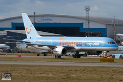G-BYAH - 26966 - Thomson Airways - Boeing 757-204 - Luton - 100226 - Steven Gray - IMG_7475