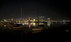 (ainstone) Tags: longexposure night lights harbor nikon nightshot sandiego fiatlux d700