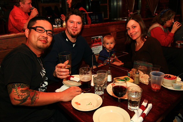 Candlelite customers love pizza wine and good service by Candlelite Chicago