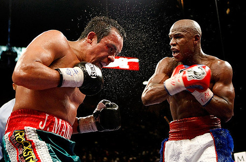 FLOYD MAYWEATHER vs Juan Manuel Marquez fight video