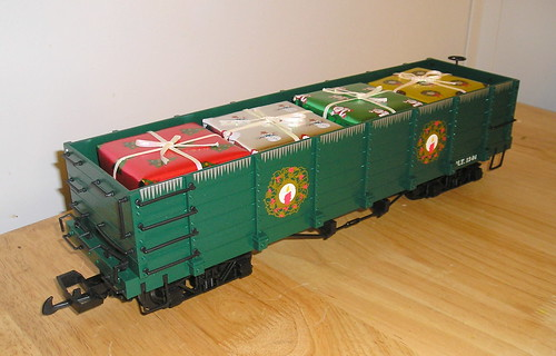 Flickriver: Photoset 'Bachmann G-scale christmas trains' by