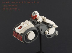 High Altitude M-8 Speeder Bike (Titolian) Tags: bike high lego space altitude future speeder chunky
