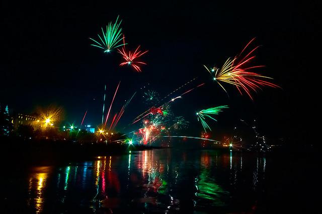 Fuegos artificiales año nuevo 2011