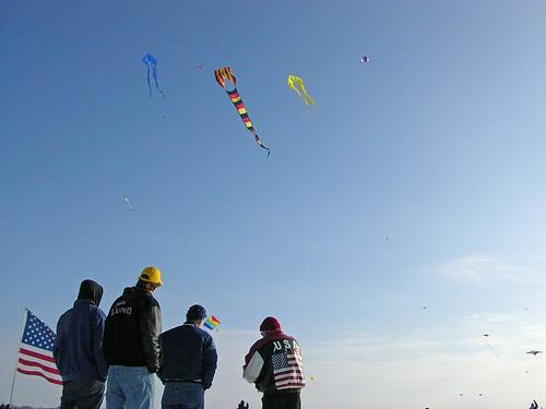 Winter Kite Festival 2008 cool teens