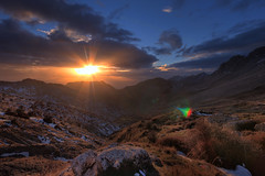 sunset over the mountains Djurdjura Algeria (aziouezmazouz) Tags: friends sunset sky macro lights landscapes colours shadows newvision vibrantcolours sigma1020 natureplus thebestofday gnneniyisi whatalandscape panoramafotogrfico flickraward vividstriking peregrino27newvision