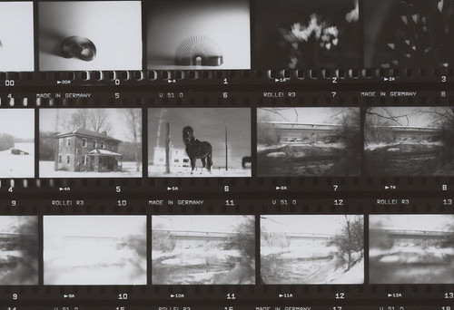 Lensbaby film contact sheet 1
